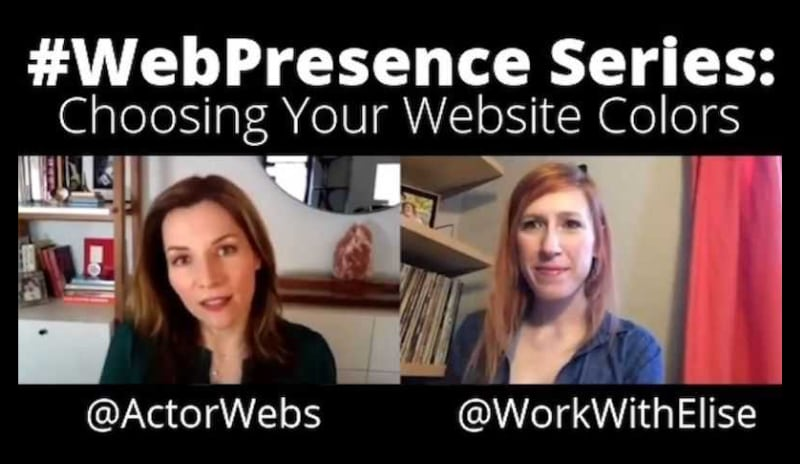 #WebPresence Series, Ep 5:<br>How to Choose Website Colors