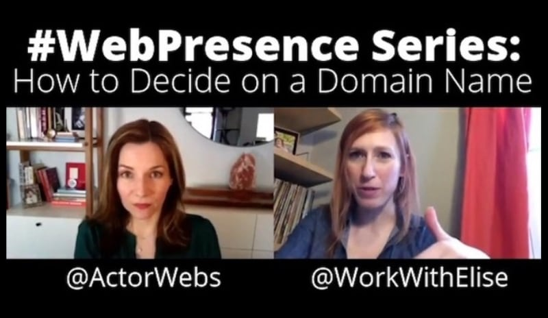 #WebPresence Series, Ep 4:<br>How to Decide on a Domain Name