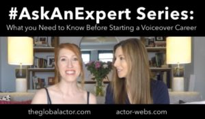 What You Need to Know Before Starting a Voiceover Career