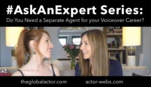 Do you Need a Separate Agent for your Voiceover Career?