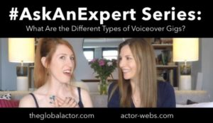 What are the Different Types of Voiceover Gigs?