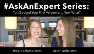 You Booked Your First VO – Now What?