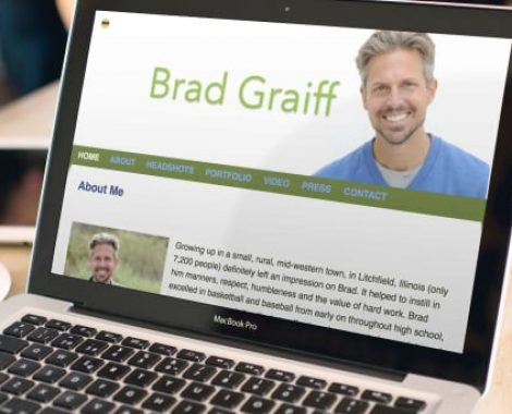 Actor-Webs Website - Brad Graiff