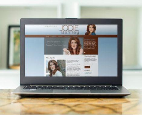 Actor-Webs Website - Jodie Bentley