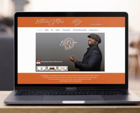 Actor-Webs Website - Kahlid Elijah Tapia
