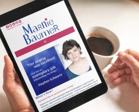 Actor-Webs Website - Marnie Baumer